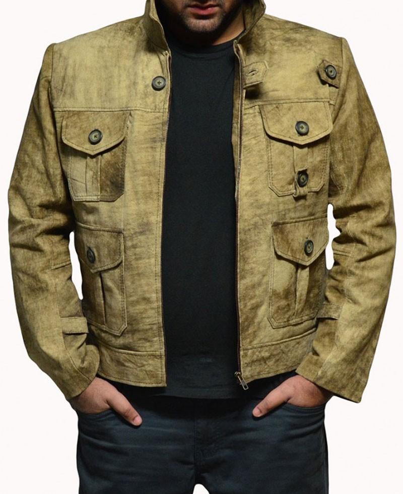 Expendables 2 Jason Statham Lee Christmas Leather Jacket ...