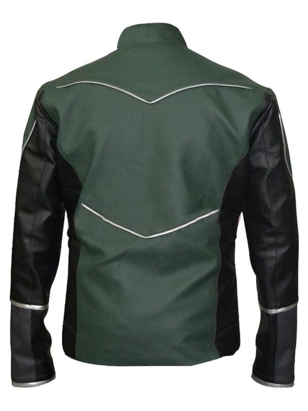 Green Lantern Hal Jordan Leather Jacket