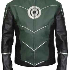 Green Lantern Hal Jordan Leather Jacket