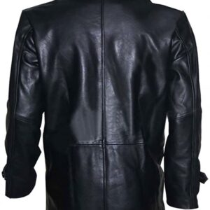 Taken 2 Bryan Mills Black Leather Jacket