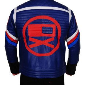 Funky Gamer Leather Jacket