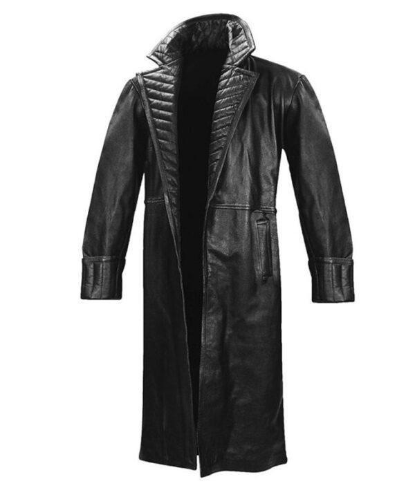 Nick Fury Samuel Jackson Iron Man 2 Leather Coat
