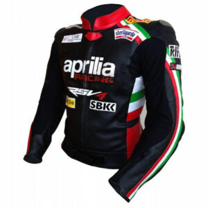 APRILIA MotorbikeMotorcycle Leather Jacket Mens Racing Biker Leather Jackets