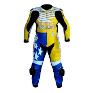 American Honda Motorcycle Leather Suit