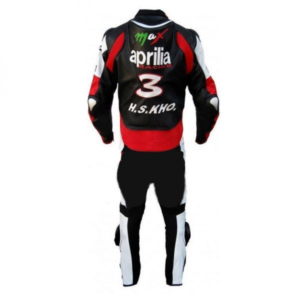 Aprilia Racing Motorcycle Leather Suit