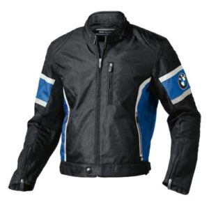 BMW Racing Black Motorbike Leather Jacket
