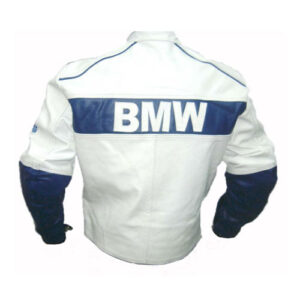 BMW Racing Branded Motorbike Leather Jacket