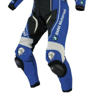 Bmw Motorcycle Leather Racing Track Suit Armour Protective Jacket Trouser Suit