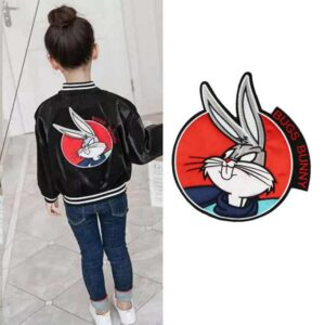 bugs-bunny-rabbit-patch-embroidered-applique-fashion-clothing-decoration-sew-on-patch-diy-accessories