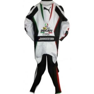 Ducati Corse Panther Bike Racing Leather Suit