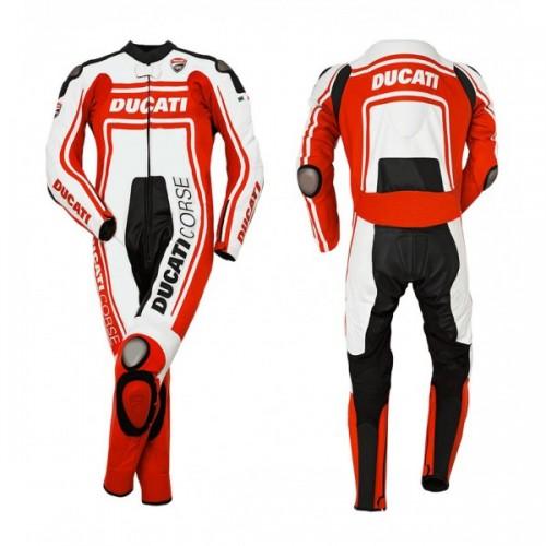 Ducati Corse one piece leather Racing suit