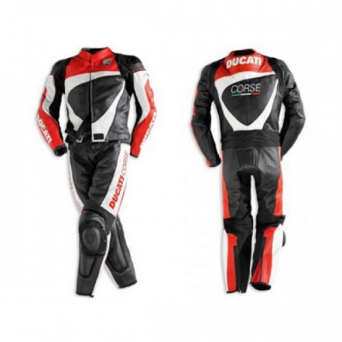 Ducati corse 2012 2 pc leather suit For Mens