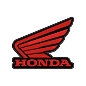 HONDA Red Wings Logo Embroidered Patch