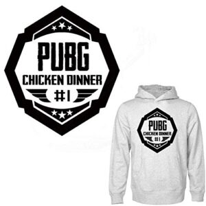PUBG Iron-On Patches for Clothes DIY T-Shirt Clothing Child Patches Thermal Transfer Sticker