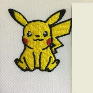 Pikachu Pokemon Go Iron On Patch