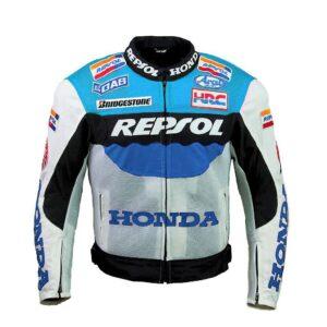 Repsol Blue Motorcycle Team Textile Jacket