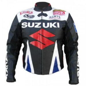 SUZUKI MOTUL MOTORCYCLE LEATHER RACING JACKET