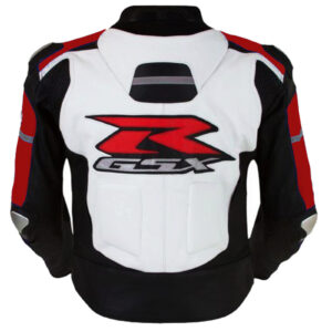 Suzuki GSXR Motorcycle Leather Jackets Men Motorbike Leather Jacket CE Approved