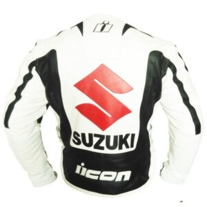 Suzuki Motorcycle Jacket With Safety Pad