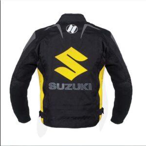Suzuki Yellow Textile Motorcycle Jacket