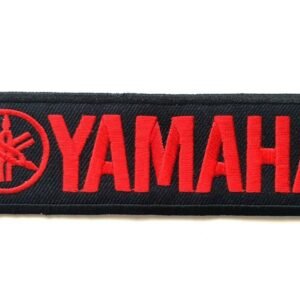 YAMAHA Red Logo MotoGP Racing Patch Iron on Polo Jacket Cap Bade