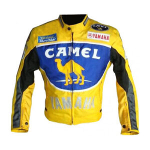 Yamaha-Camel-Motorbike-Leather-Jacket