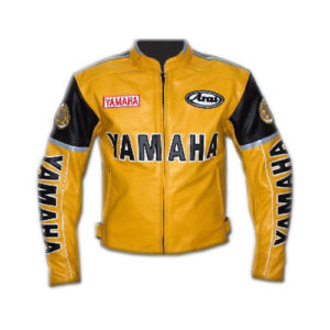 Yamaha Motorbike Leather Jacket
