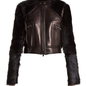 contrast-sleeve-leather-shearling-biker-jacket