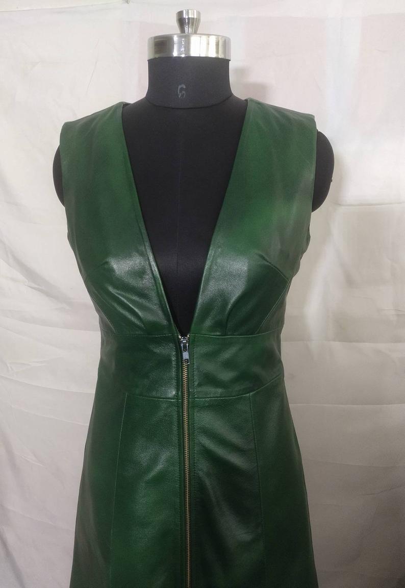 handmade-green-genuine-lambskin-leather-coat
