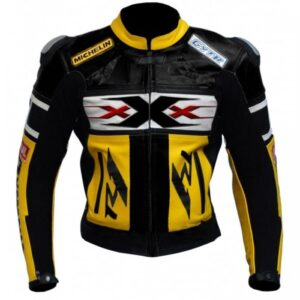 Vin Diesel XXX R6 R125 Motorcycle Armoured Leather Jacket