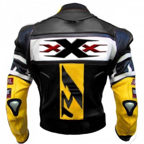 Vin Diesel XXX R6 R125 Motorcycle Armoured Leather Jacket