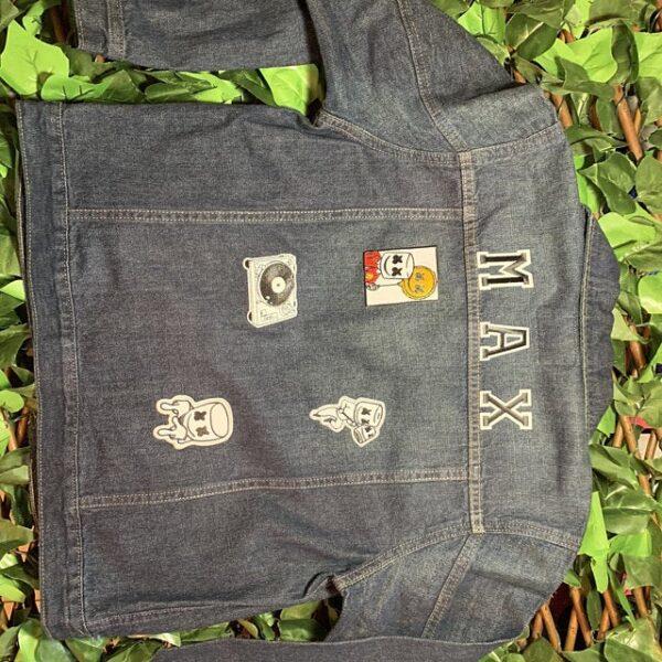 DJ marshmello iron on patch For Jacket
