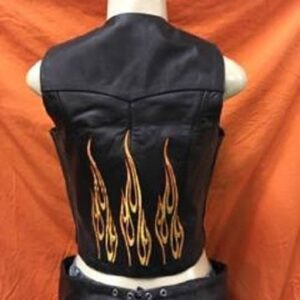 plain-side-vest-with-embroidery-flames