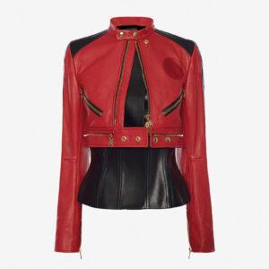 red-black-biker-leather-jacket