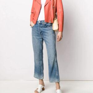 silver-tone-zip-leather-biker-jacket