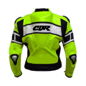 cbr-motorcycle-leather-green-and-white-jacket
