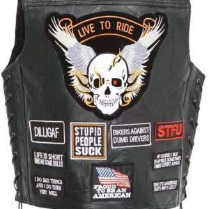 biker-vest-concealed-carry-buffalo-leather-skull-wings