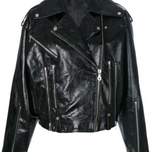 black-leather-oversized-biker-jacket