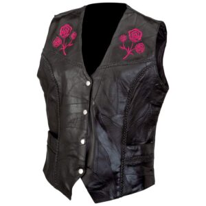 black-rock-design-leather-vest-with-embroidered-roses