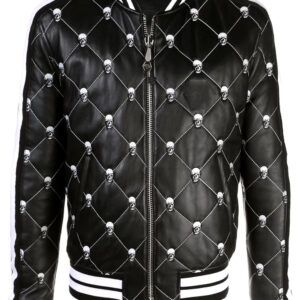black-skull-quilted-leather-bomber-jacket
