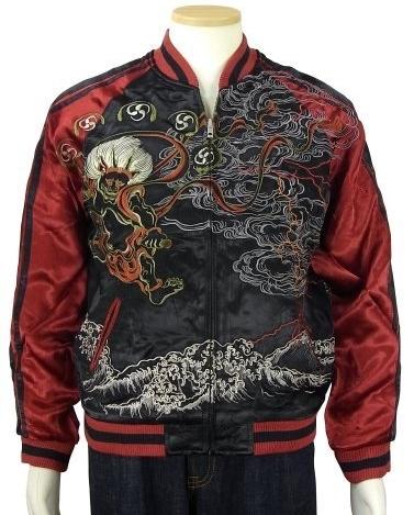 japan-japanese-dragon-ryu-fujin-raijin-hokusai-nami-wave-embroidered-yokosuka-jumper-tatoo-art-sukajan-souvenir-jacket
