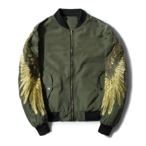 men-autumn-spring-jacket-embroidery-gold-eagle-wings-bomber-jacket-2