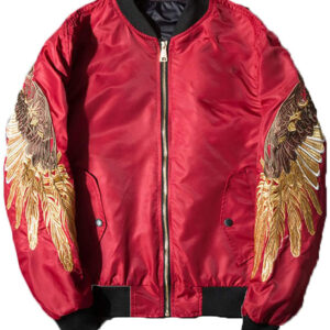 men-autumn-spring-jacket-embroidery-gold-eagle-wings-bomber-jacket