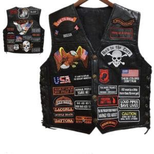 new-genuine-sheep-leather-punk-vest-concealed-carry-biker-vest