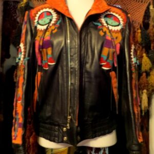 outrageous-suede-leather-western-jacket-patched-beaded-fringed