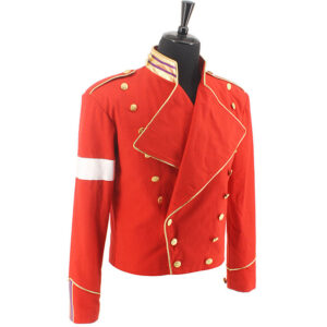rare-michael-jackson-mj-military-england-style-informal-dress-red-jacket