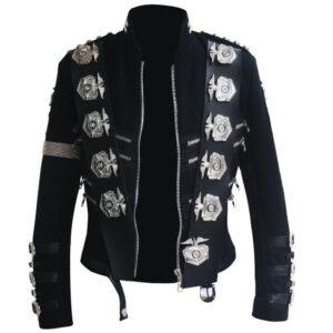 rare-mj-michael-jackson-bad-tour-punk-classic-badges-black-jacket-outerwear