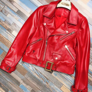red-genuine-lambskin-leather-garment-belted-jacket