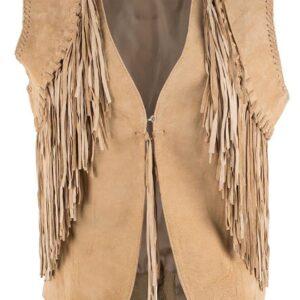 scully-tan-leather-fringe-vest