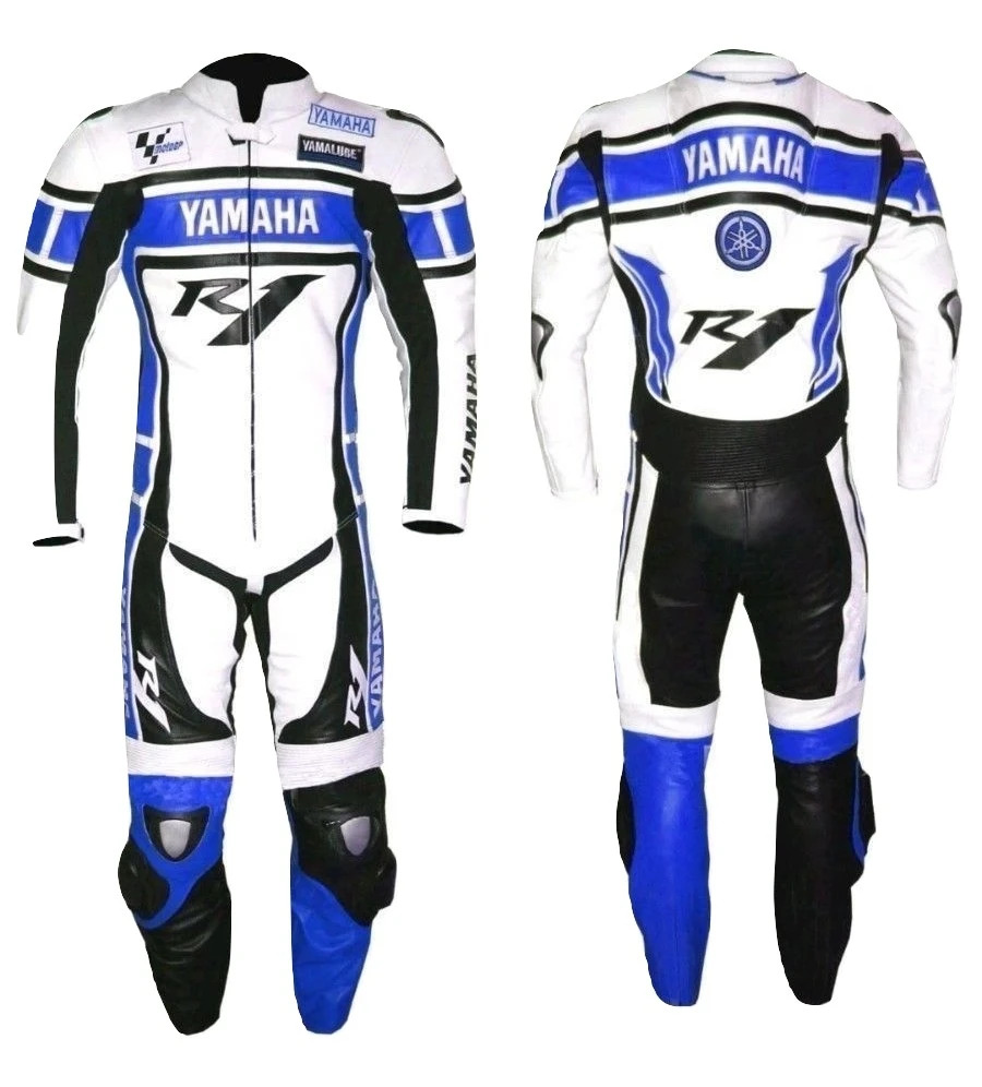 yamaha-blue-r1-motorcycle-leather-racing-suit-approved-protection